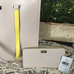 Kate Spade Wallet- Large Stacy Arbour Hill